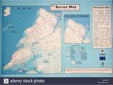 The Burren Ireland Map Ireland the Burren Ballyvaughan Stock Photos Ireland the Burren