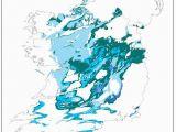 The Burren Ireland Map Karst In Ireland
