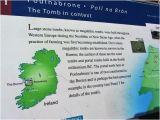 The Burren Ireland Map Poulnabrone Dolmen Picture Of Burren Hills Walk Ballyvaughan