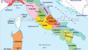 The Map Of Italy Cities Regions Of Italy E E Map Of Italy Regions Italy Map Italy Travel