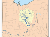 The Ohio River On A Map Muskingum River Revolvy