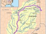 The Ohio River On A Map Ohio River Revolvy
