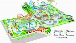 Theme Parks France Map 2014 Cliff S Amusement Park Map Map Travel Map Parking