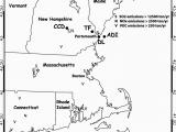 Thompson Ohio Map Map Of Study area Locations Of Thompson Farm Tf Appledore island