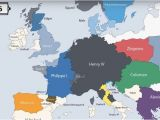 Time Lapse Map Of Europe Animation Presents the Rulers Of Europe Every Year since 400