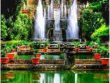 Tivoli Gardens Italy Map Tivoli Gardens Dream Home Jardines De Tivoli Roma Italia Italia