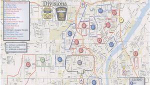 Toledo Ohio Map Google the Blade Obtains toledo Police Department S Gang Territorial