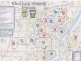 Toledo Ohio On Map the Blade Obtains toledo Police Department S Gang Territorial