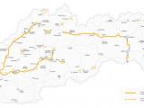 Toll Roads Ireland Map Highway Vignettes Slovakia tolls Eu