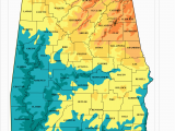 Topographic Map Of Alabama Alabama topographic Map Words and Pictures