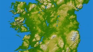 Topographic Map Of Ireland atlas Of Ireland Wikimedia Commons