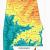 Topographic Map Of Lake Guntersville Alabama Alabama topographic Map Words and Pictures Pinterest Alabama