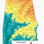 Topographic Map Of Mobile Alabama Alabama topographic Map Words and Pictures Pinterest Alabama