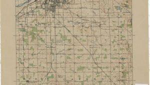 Topographic Maps Of Michigan Vintage Grand Rapids Map Vintage Michigan Grand Rapids Map Map