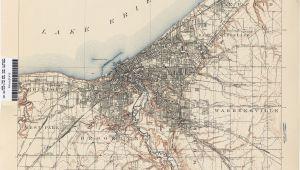 Topographic Maps Of Ohio Cleveland Zip Code Map Elegant Ohio Historical topographic Maps