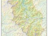 Topographical Map Of north Carolina Haywood County topographical Map Haywood north Carolina Mappery