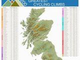 Tour De France Climbs Map tour De France Map Etsy