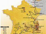 Tour De France Route Maps Die Strecke Der tour De France 2017