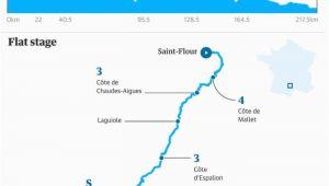 Tour De France Stage 10 Map tour De France 2019 Wout Van Aert Wins Stage 10 In Photo Finish