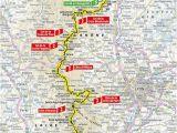 Tour De France Stage 8 Map 8 Etapa Ma Con Saint A Tienne tour De France 2019