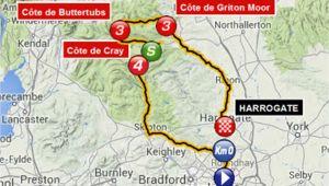Tour De France Yorkshire Route Map tour De France Route 2014 Guide to British Stages Of Le Grand tour
