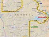 Tour Of California Route Map tour Of California 2018 Route Stage 5 Stockton Elk Grove