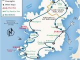 Tourist attractions Ireland Map Ireland Itinerary where to Go In Ireland by Rick Steves