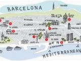 Tourist Map Of Barcelona Spain 57 Best tourist Map Images In 2018 Map tourist Map Map Art