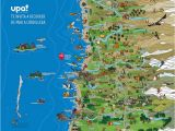 Tourist Map Of Cartagena Spain From Pacific to andes Illustrated tourist Map On Behance Chile