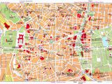 Tourist Map Of Cartagena Spain Map Of Madrid attractions Planetware S P A I N In 2019 Madrid