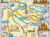 Tourist Map Of Colorado Trail Ridge Road Scenic byway Map Colorado Vacation Directory