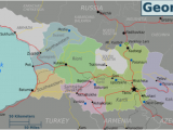 Tourist Map Of Georgia Georgia Country Travel Guide at Wikivoyage