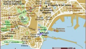 Tourist Map Of Naples Italy Map Of Naples