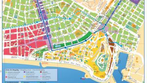 Tourist Map Of Nice France Maps and Brochures Of Nice Ca Te D Azur