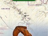 Trails Illustrated Maps Colorado Arches National Park National Geographic Trails Illustrated Map