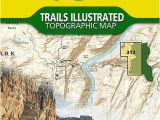 Trails Illustrated Maps Colorado Canyonlands National Park Maze District Map 312 by National