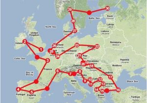 Train Maps Europe How to Travel Europe by Train someday I Hope to Use This