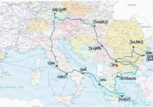 Train Maps Europe Pinterest