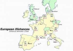 Train Routes Europe Map European Driving Distances and City Map