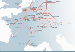 Train Routes Europe Map Planning Your Trip by Rail In Europe