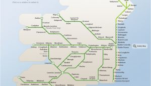 Train Travel In Ireland Map Map Of Ireland Road Network Download them and Print