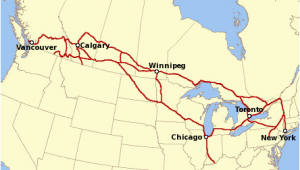 Trains In Canada Map Canadian Pacific Railway Wikipedia