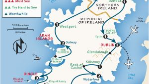 Trains In Ireland Route Map Ireland Itinerary where to Go In Ireland by Rick Steves