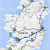 Trains Ireland Map the Ultimate Irish Road Trip Guide How to See Ireland In 12 Days