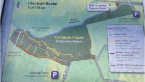 Tralee Ireland Map Map Of Trails Picture Of Ballyseedy Woods Tralee