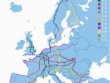 Trip Planner Map Europe E8 Long Trail In Europe 9 Countries 2290 Miles From