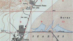 Trona California Map 1949 Trona California Searles Valley 15 Minute Usgs topographic topo