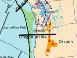 Tsunami Map oregon 8 Best Earthquake Images Cascadia Subduction Zone Pacific