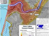 Tsunami Map oregon Coast Pdf Relative Tsunami Hazard Maps Humboldt County California