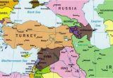 Turkey On A Map Of Europe Turkey the Middle East Coa Rafya Turkiye Ve ordu